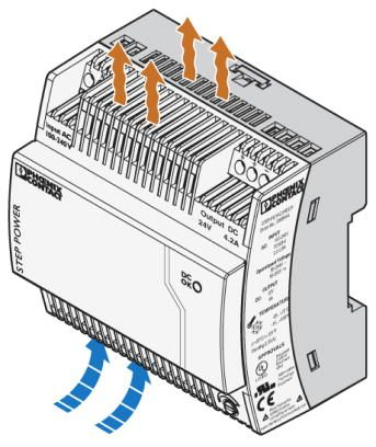 STEP-PS/1AC/24DC/4.2 Installation drawing