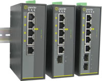 Commutateur industriel Gigabit PoE 5 ports